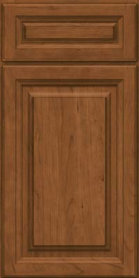 Square Raised Panel - Solid (BF) Cherry in Rye - Base