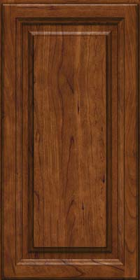 Square Raised Panel - Solid (BF) Cherry in Cognac - Wall