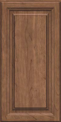 Square Raised Panel - Solid (BF) Cherry in Husk - Wall