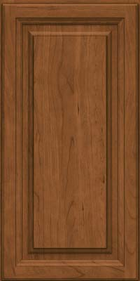 Square Raised Panel - Solid (BF) Cherry in Rye - Wall