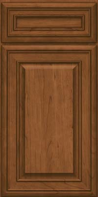 Square Raised Panel - Solid (BLC) Cherry in Rye - Base
