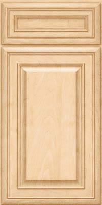 Square Raised Panel - Solid (BLM) Maple in Natural - Base