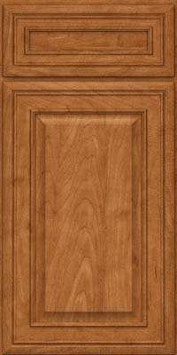 Square Raised Panel - Solid (BLM) Maple in Praline - Base