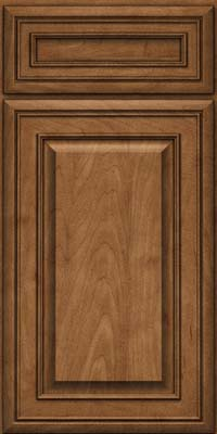 Square Raised Panel - Solid (BLM) Maple in Rye - Base