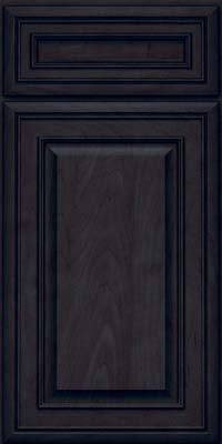 Square Raised Panel - Solid (BLM) Maple in Slate - Base