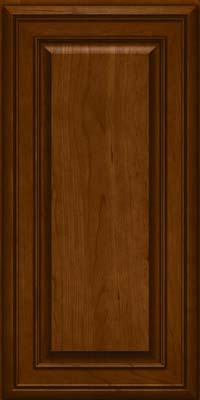 Square Raised Panel - Solid (BLC) Cherry in Chocolate - Wall