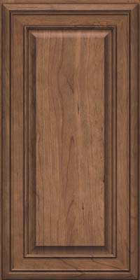 Square Raised Panel - Solid (BLC) Cherry in Husk - Wall