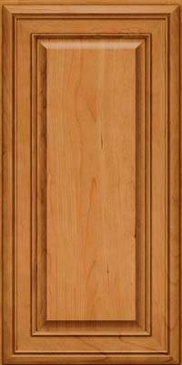 Square Raised Panel - Solid (BLC) Cherry in Natural - Wall