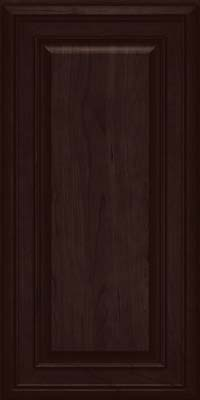 Square Raised Panel - Solid (BLC) Cherry in Peppercorn - Wall