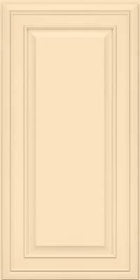 Square Raised Panel - Solid (BLM) Maple in Biscotti w/Coconut Glaze - Wall