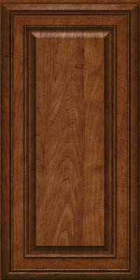 Square Raised Panel - Solid (BLM) Maple in Cognac - Wall