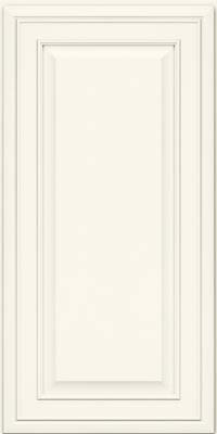 Bartlett Miter (BLM) Maple in Dove White - Wall