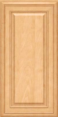 Square Raised Panel - Solid (BLM) Maple in Honey Spice - Wall