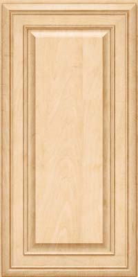 Square Raised Panel - Solid (BLM) Maple in Natural - Wall