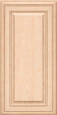 Square Raised Panel - Solid (BLM) Maple in Parchment - Wall