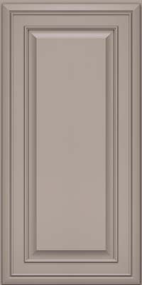Square Raised Panel - Solid (BLM) Maple in Pebble Grey - Wall