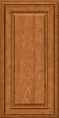 Square Raised Panel - Solid (BLM) Maple in Praline w/Mocha Highlight - Wall