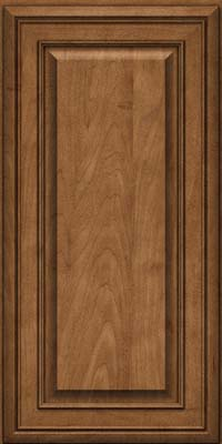 Square Raised Panel - Solid (BLM) Maple in Rye - Wall