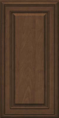 Square Raised Panel - Solid (BLM) Maple in Saddle Suede - Wall