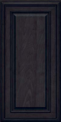 Square Raised Panel - Solid (BLM) Maple in Slate - Wall