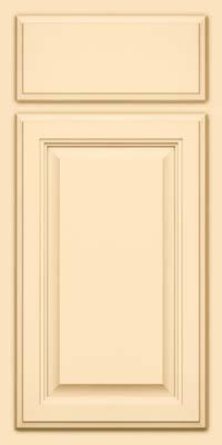 Square Raised Panel - Veneer (GV) Maple in Biscotti - Base