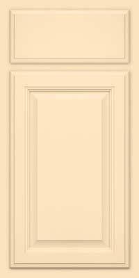 Square Raised Panel - Veneer (GV) Maple in Biscotti w/Coconut Glaze - Base