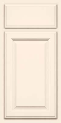 Square Raised Panel - Veneer (GV) Maple in Canvas - Base