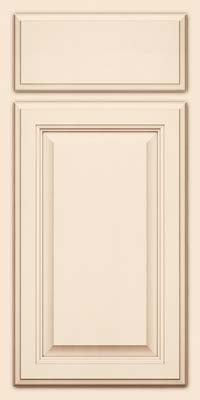 Square Raised Panel - Veneer (GV) Maple in Canvas w/Cocoa Glaze - Base