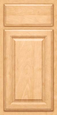 Square Raised Panel - Veneer (GV) Maple in Honey Spice - Base