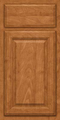 Square Raised Panel - Veneer (GV) Maple in Praline - Base