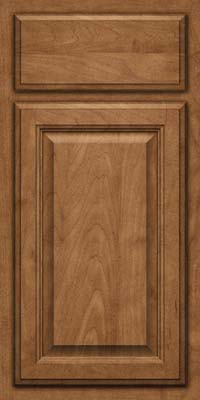 Square Raised Panel - Veneer (GV) Maple in Rye - Base