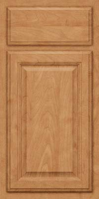 Square Raised Panel - Veneer (GV) Maple in Toffee - Base
