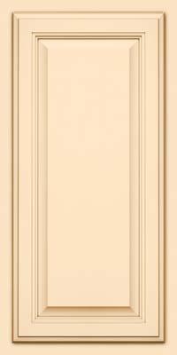 Square Raised Panel - Veneer (GV) Maple in Biscotti w/Cocoa Glaze - Wall