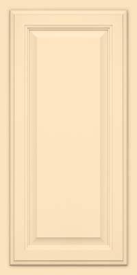 Square Raised Panel - Veneer (GV) Maple in Biscotti w/Coconut Glaze - Wall