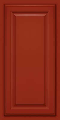 Square Raised Panel - Veneer (GV) Maple in Cardinal - Wall