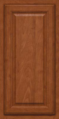 Square Raised Panel - Veneer (GV) Maple in Chestnut - Wall