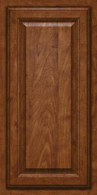Square Raised Panel - Veneer (GV) Maple in Cognac - Wall