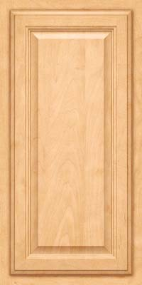 Square Raised Panel - Veneer (GV) Maple in Honey Spice - Wall