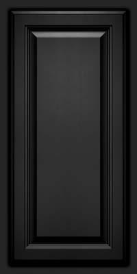 Square Raised Panel - Veneer (GV) Maple in Onyx - Wall