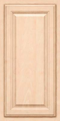 Square Raised Panel - Veneer (GV) Maple in Parchment - Wall