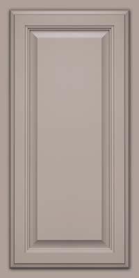 Square Raised Panel - Veneer (GV) Maple in Pebble Grey - Wall