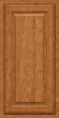 Square Raised Panel - Veneer (GV) Maple in Praline - Wall