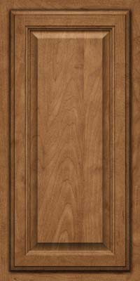 Square Raised Panel - Veneer (GV) Maple in Rye - Wall