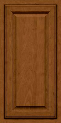 Square Raised Panel - Veneer (GV) Maple in Rye w/Sable Glaze - Wall