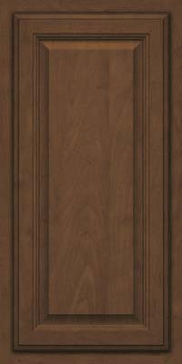 Square Raised Panel - Veneer (GV) Maple in Saddle - Wall
