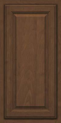Square Raised Panel - Veneer (GV) Maple in Saddle Suede - Wall