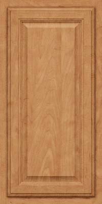 Square Raised Panel - Veneer (GV) Maple in Toffee - Wall