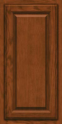 Square Raised Panel - Veneer (BN) Oak in Autumn Blush - Wall