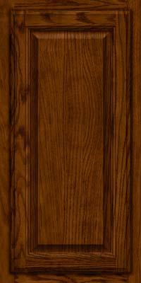 Square Raised Panel - Veneer (BN) Oak in Cognac - Wall