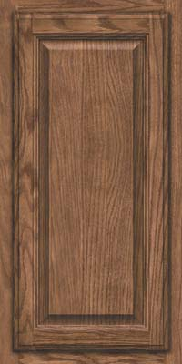 Square Raised Panel - Veneer (BN) Oak in Husk - Wall